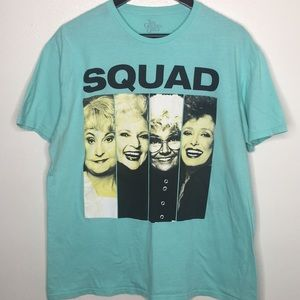 Tops - The Golden Girls Squad Light Blue Tee Sz XL